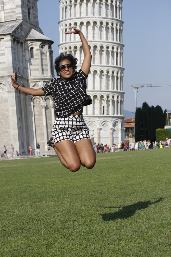 D Jumping in Pisa